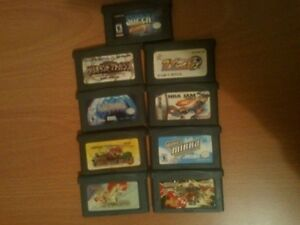 lot of games for gameboy advance