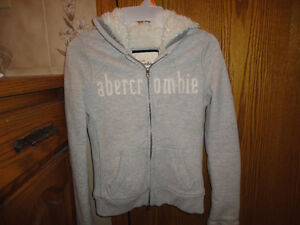 Youth Girls Abercrombie & Fitch Fleece Hoodie - Size M or L