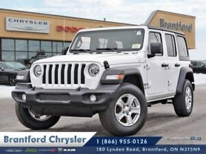 2018 Jeep Wrangler Unlimited Sport  - Uconnect - $297.65 B/W