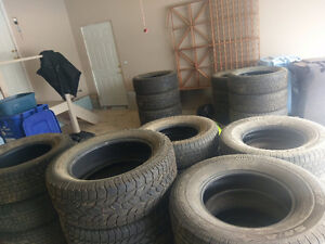 7 sets of tires