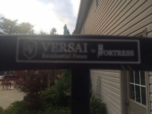 Versa Fortress Wrought Iron Fence Section