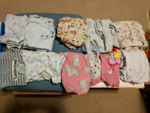 10 onesies for 3 - 6 months