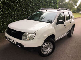 2014 14 DACIA DUSTER 1.6i 16V ACCESS GREAT VALUE ONLY 36000 MILES !!!