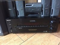 Sony 5.1 surround sound amp and speakers