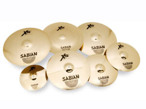 Sabian XS20 Complete Cymbal Set with Hard Case