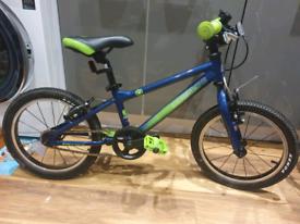"Carrera Cosmos Kids Bike - 16"" Wheel - Blue"