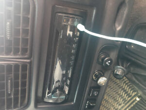 Pioneer CD deck with remote