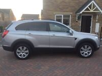 Chevrolet captiva 2.0d 7seater ltx top of the range