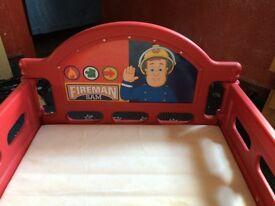 Children's bed fireman sam