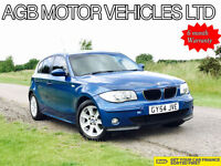 LATE 2004 BMW 116 1.6 PETROL BMW 116 1.6 SE MODEL WITH M-SPORT OPTIONS M SPORT