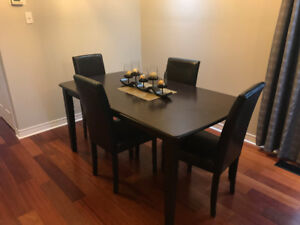 Dining Table, Chairs, Wardrobe, and Dressers for Sale