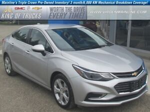 2016 Chevrolet Cruze Premier | Leather | Heated Rear Seats