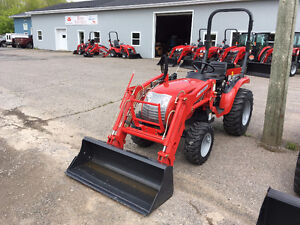 McCormick 24hp Tractor & Loader - FREE EXTRAS!