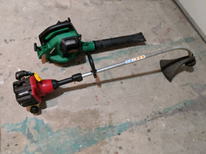 Weed eater and leaf blower