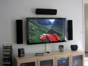 TV installation led lcd plasma sound system installation $50