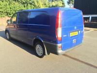 Mercedes-Benz Vito CDI 115. EXTRA LONG. TWIN SLIDING DOORS.ONLY 2 OWNERS.