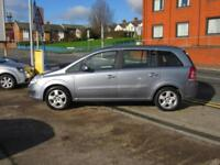 08 VAUXHALL ZAFIRA 1.6 16v EXCLUSIV + MOT OCTOBER 2018 + 7 SEATS