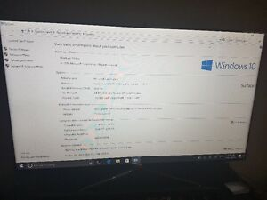 Microsoft Surface 3 Pro, broken screen, display cable, charger