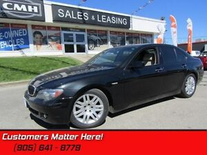 2007 BMW 7 Series 750iL  V8, NAVIGATION, SUNROOF, COOLED LEATHER