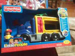 Brand new little people sound truck for $25.