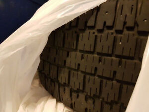 Good condition BF Goodrich Winter Slalom Tires and Rims!!!