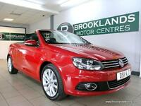 Volkswagen Eos 2.0 TDI DSG Auto SE [6X SERVICES and PANORAMIC ROOF]