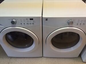 KENMORE AFFINITY  Laveuse Sécheuse Frontales Washer Dryer