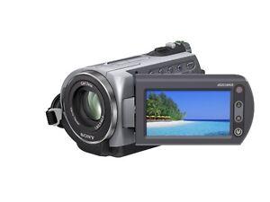 Sony Handycam DCR-SR82 60GB HDD Touchscreen Camcorder
