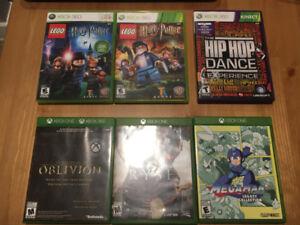 Jeux de Xbox 360 et Xbox One