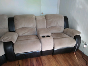 Love seat and Wedge