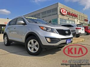 2014 Kia Sportage LX | FWD | Low KM | Like New!