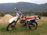 1994 Honda xr250l