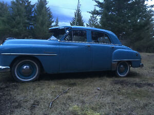 Awesome old car 1952 PLYMOUTH CAMBRIDGE