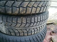 2 185/65/15 tiger paw tires