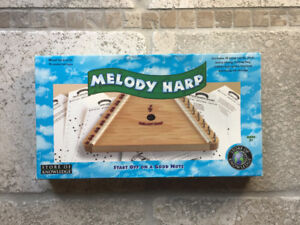 Melody Lap Harp, Never Used