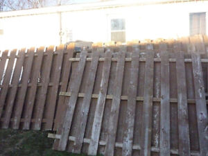 8x6 wood fence panels for sale