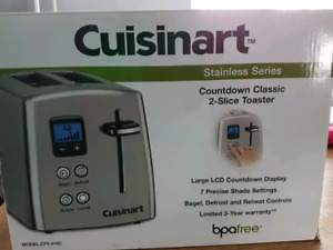 Cuisinart Toaster. NEW, NEVER  USED