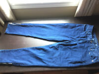Michael Kors Skinny Jeans capris Size 8 With Tapered bottom
