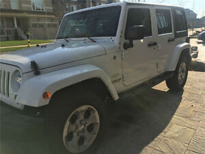 2014 Jeep Wrangler Unlimited Sahara SUV, Crossover
