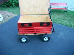 paper delivery wagon