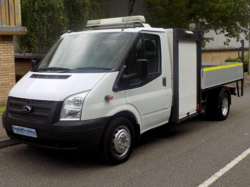 2012 12 Ford Transit Tipper Storage Box 2 2 Rwd 350 Drw