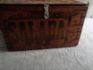 Vintage Wooden Advertising Crate