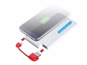 Power Bank - Slim portable charger for iPhone, Android, tablets etc.