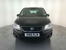 2016 SEAT ALHAMBRA SE TDI DIESEL AUTOMATIC 1 OWNER FINANCE PX WELCOME