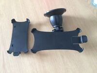 Car mount for iPhones 4 & 5