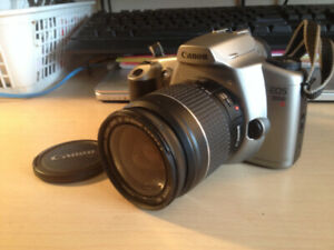 Canon EOS 3000 N AF 35mm SLR Camera with a Canon Zoom EF 28-80m