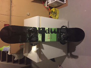 Firefly Snowboard and Bindings - Size 9 US Men Boots Incl. Cheap