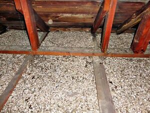 Attic Vermiculite Insulation Removal, Safe/Completely clean
