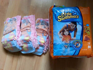"""Size Medium """"Little Swimmers""""  Swim Diapers for Sale!"""