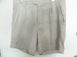 SUEDE-LIKE KHAKI SHORTS - CASUALLY DRESSY!